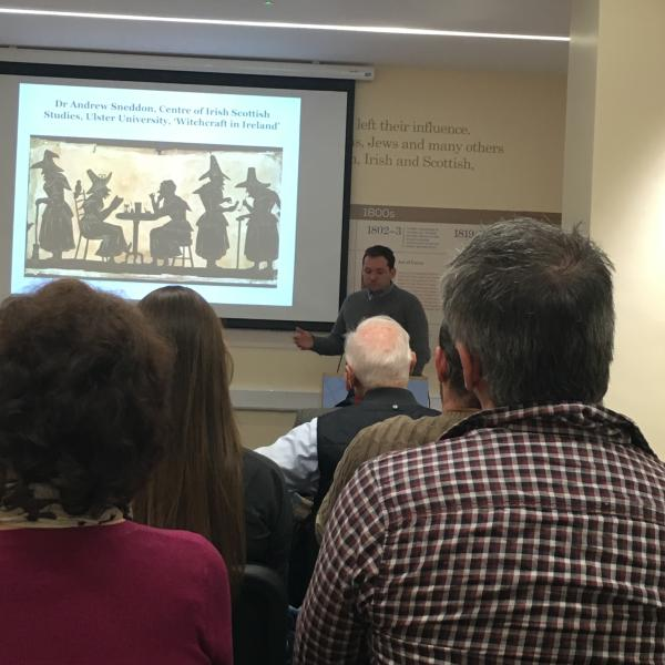Lecture on Witchcraft in Ireland and its links to Ulster-Scots