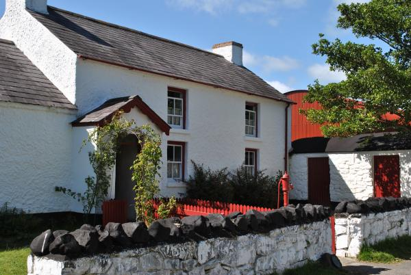 <p>A typical Ulster farmhouse, Ulster Folk &amp; Transport Museum</p>